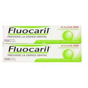 FLUOCARIL BI-FLUORE 250 DUPLO 125 ML 2 U