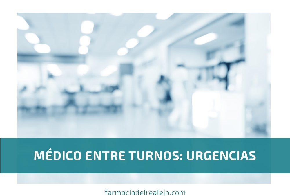 Médico entre turnos: Urgencias