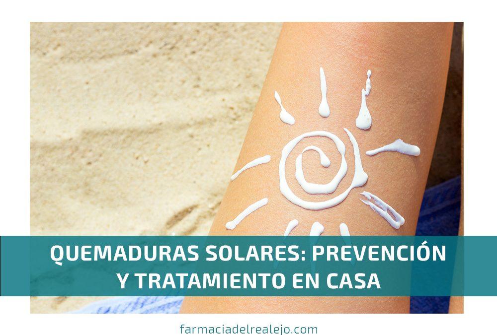 Quemaduras solares: prevención y tratamiento en casa